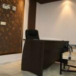 Recepción de la Residencia Asisttel para mayores situada en el Aljarafe
