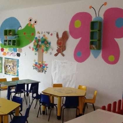 Aula de la Escuela infantil Villa Carmela