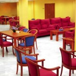salon del Centro Asisttel situado en el Aljarafe