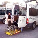 Transportes Adaptados del Centro Asisttel situado en el Aljarafe